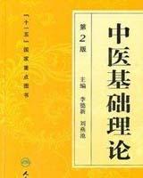 《中医基础理论》书籍目录